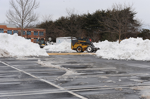 winter tips to protect your asphalt pavement