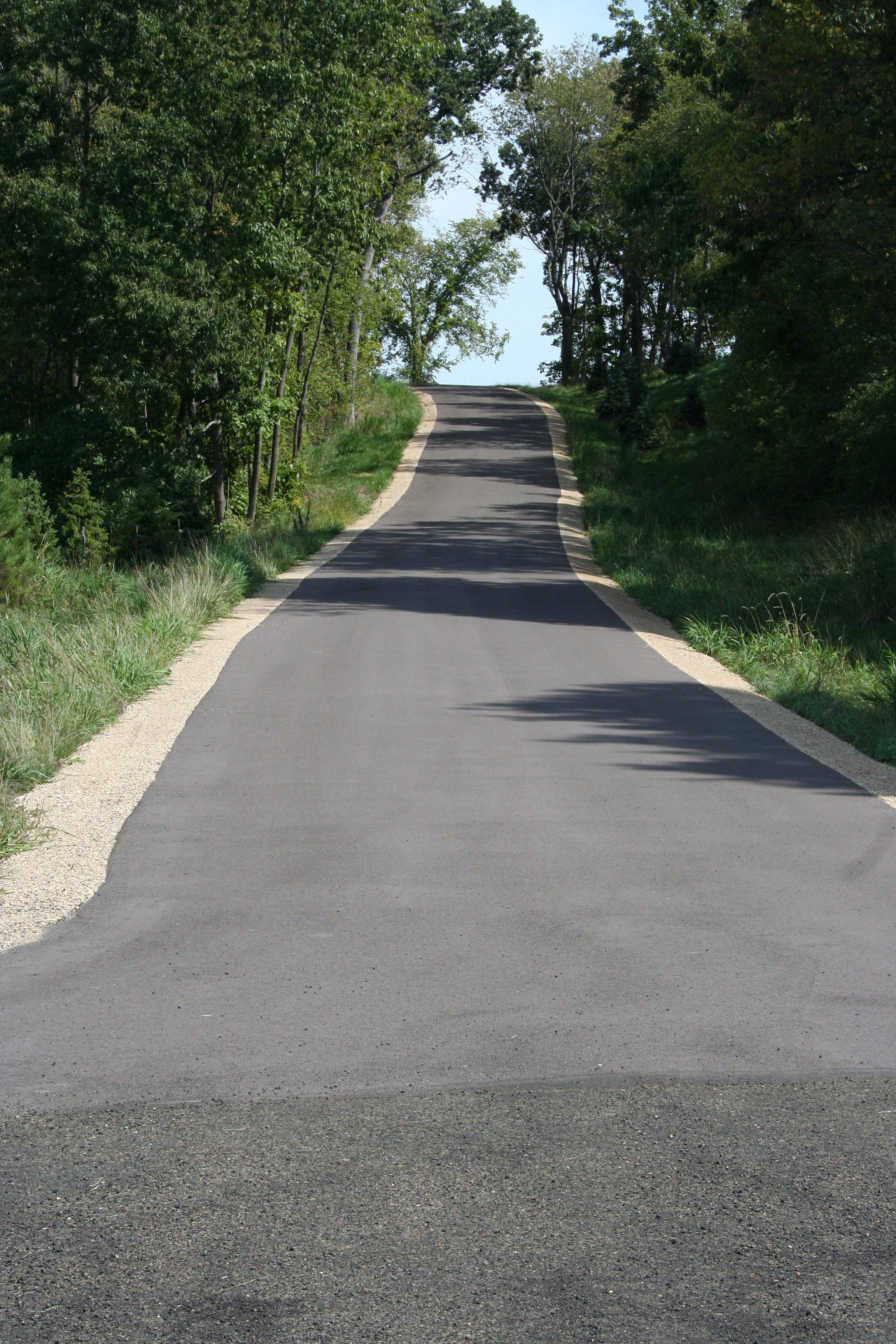 residential asphalt paving project madison