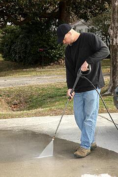 maintain porous asphalt driveway
