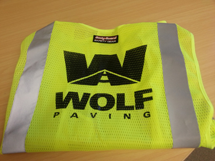Wolf Paving Apparel