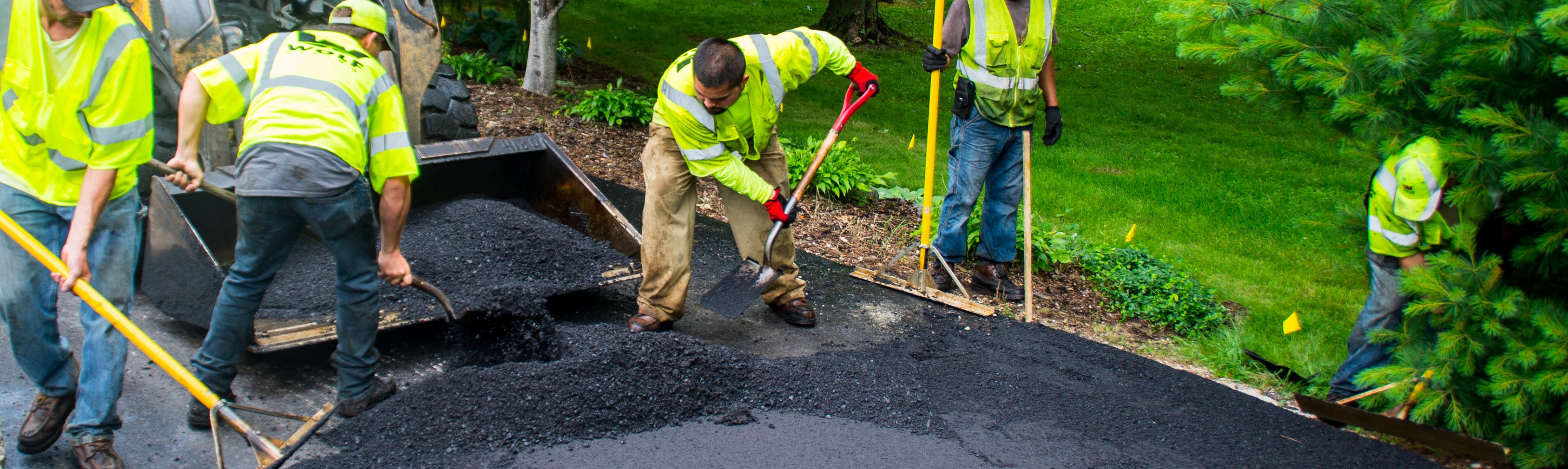 Asphalt Pavement Installation