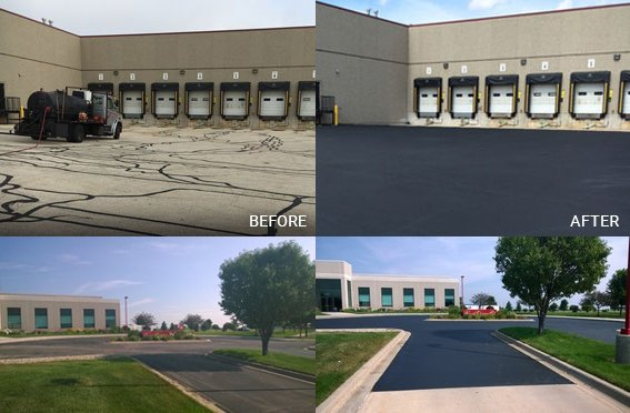 before-and-after-asphalt-sealcoating