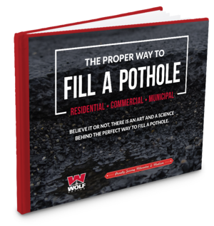 how to fill a pothole ebook