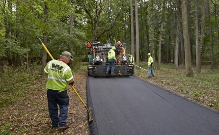 seal coat or repave asphalt driveway