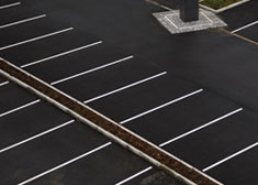 how to repair and clean a parking lot