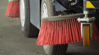 Wolf Paving Street Sweeper Services