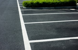 asphalt parking lots